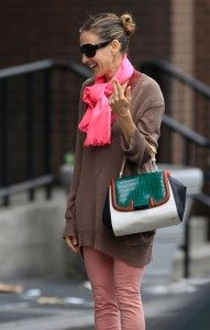 Sarah Jessica Parker Sighting In New York City - May 23, 2011
