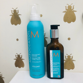 moroccanoil light and volume